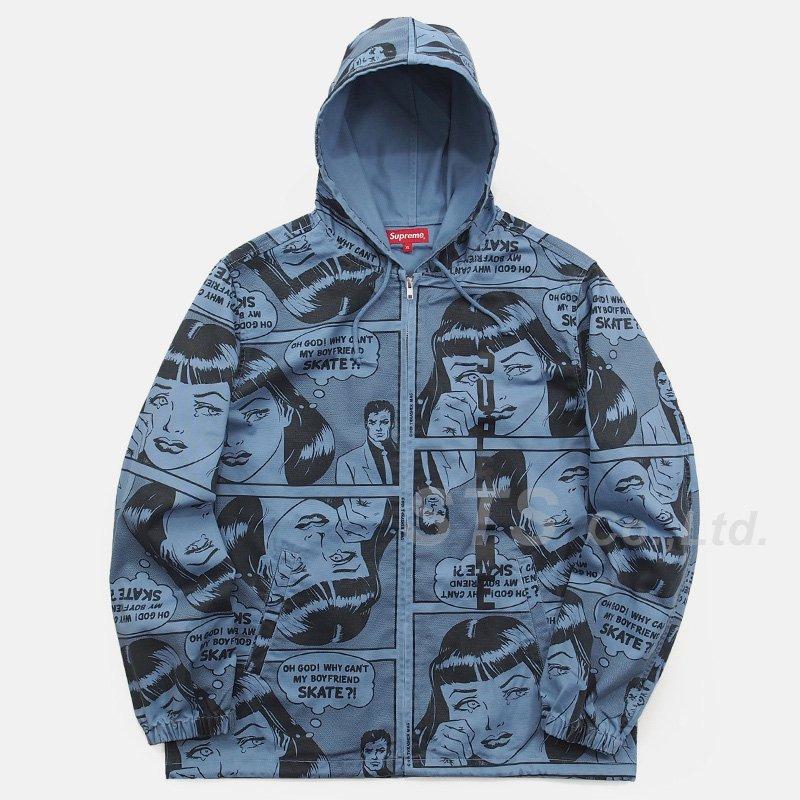 Supreme/Thrasher Boyfriend Hooded Zip Up Jacket