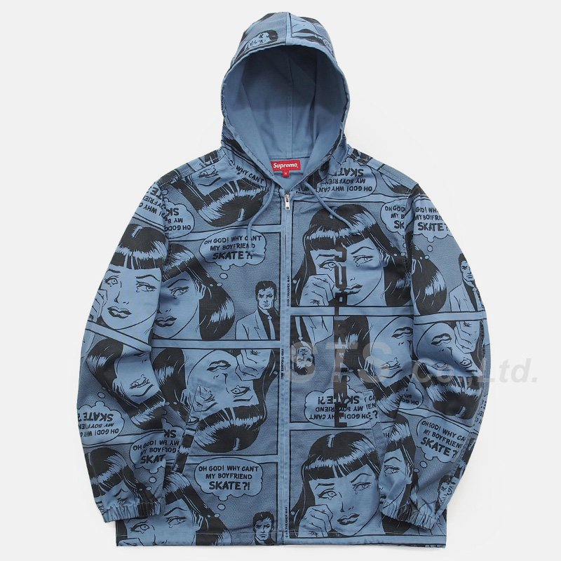 a4f058fc4ce3 Supreme Thrasher Boyfriend Hooded Zip Up Jacket - UG.SHAFT