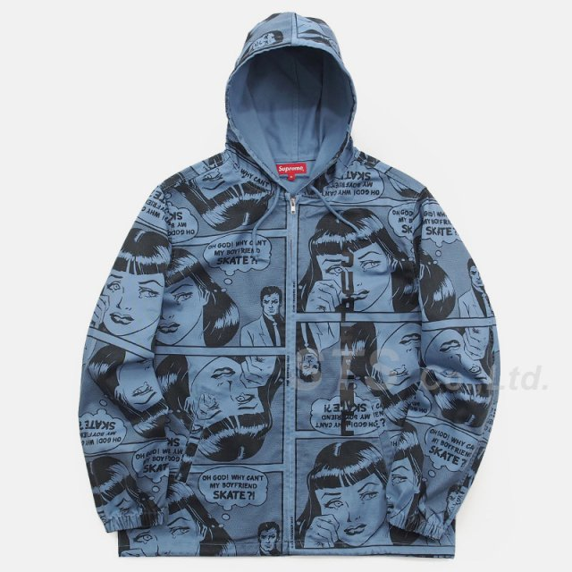 Supreme/Thrasher Boyfriend Hooded Zip Up Jacket