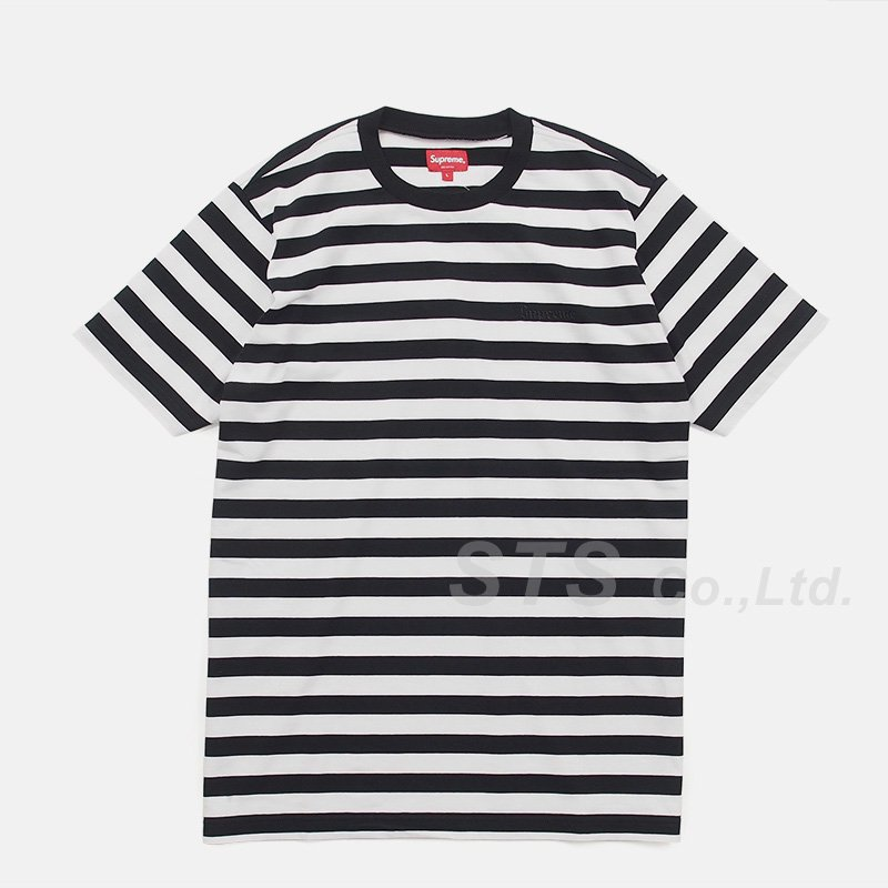 Supreme - Bar Stripe Tee
