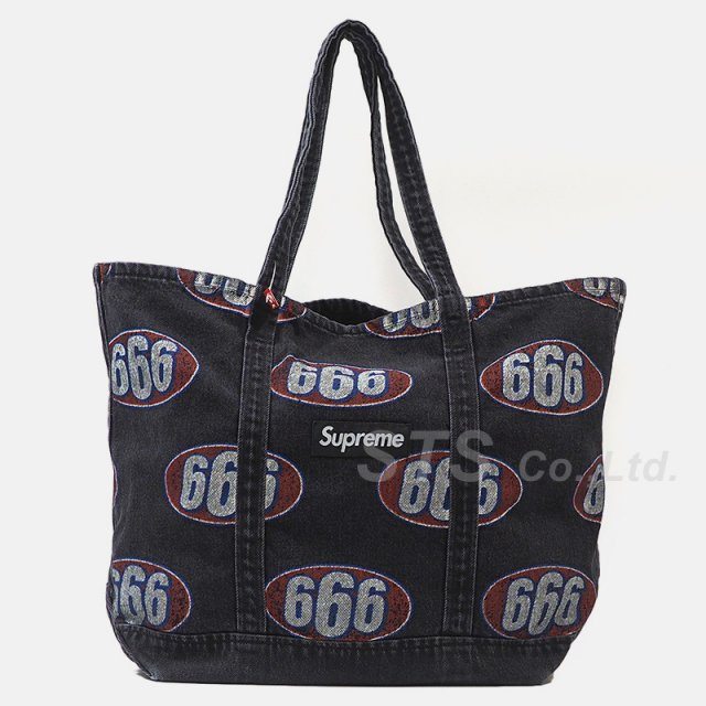 Supreme - 666 Denim Tote