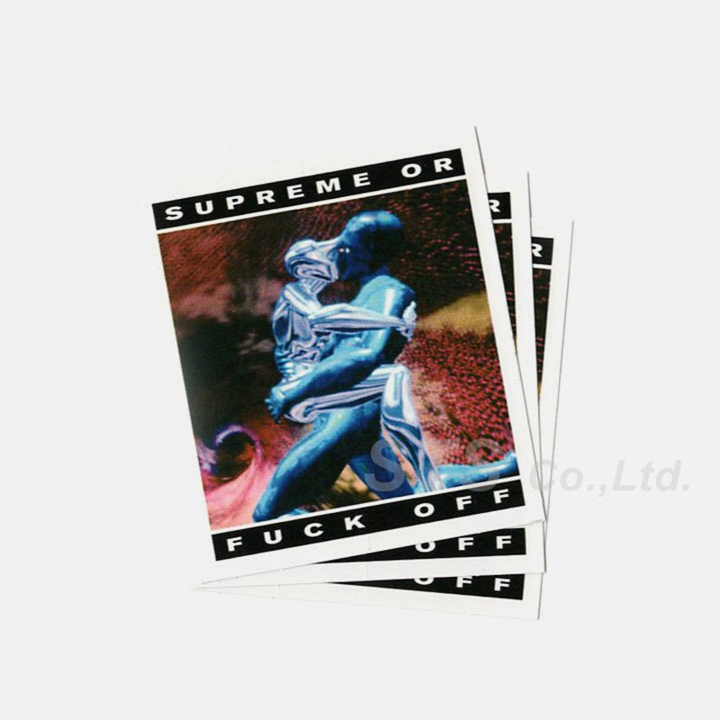 Supreme - Cyber Sticker