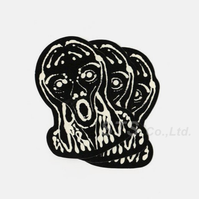 Supreme - Scream Sticker