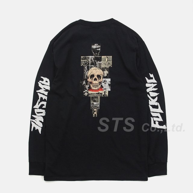 Fucking Awesome - KB Collage L/S Tee