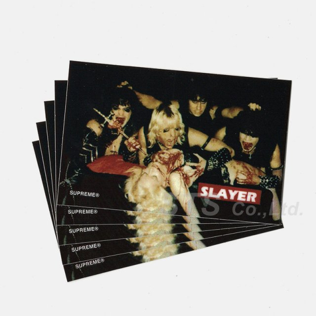 【Dead Stock】Supreme/Slayer Altar Sticker Sticker