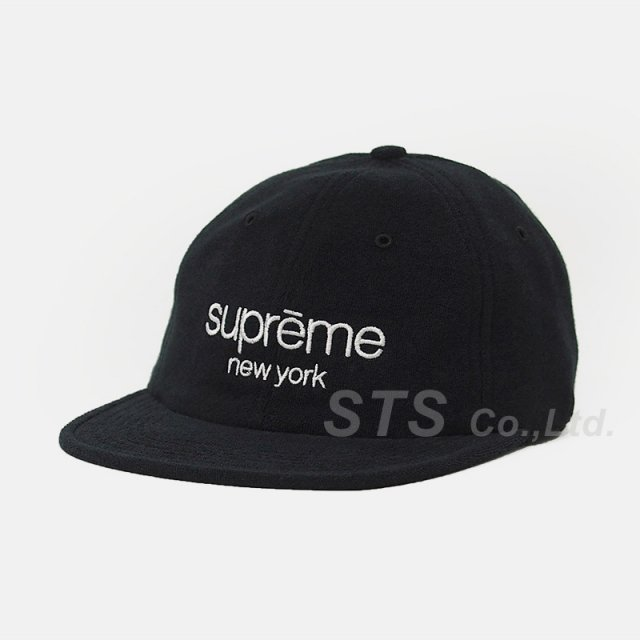 Supreme - Terry Classic Logo 6-Panel