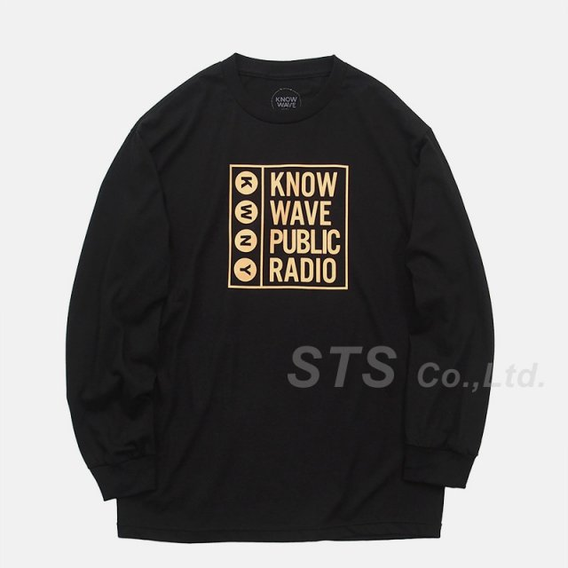 Know Wave - Public Long Sleeve Tee