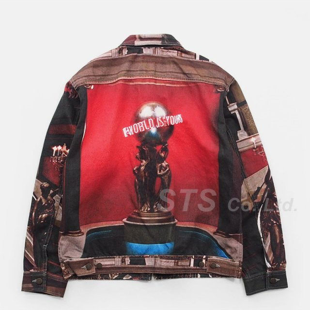 Supreme - Scarface The World Is Yours Denim Jacket