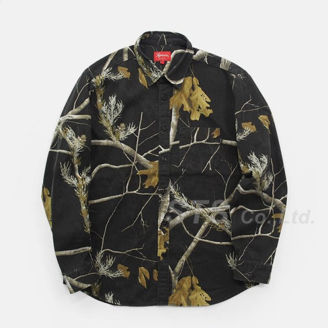 Supreme - Realtree Camo Flannel Shirt