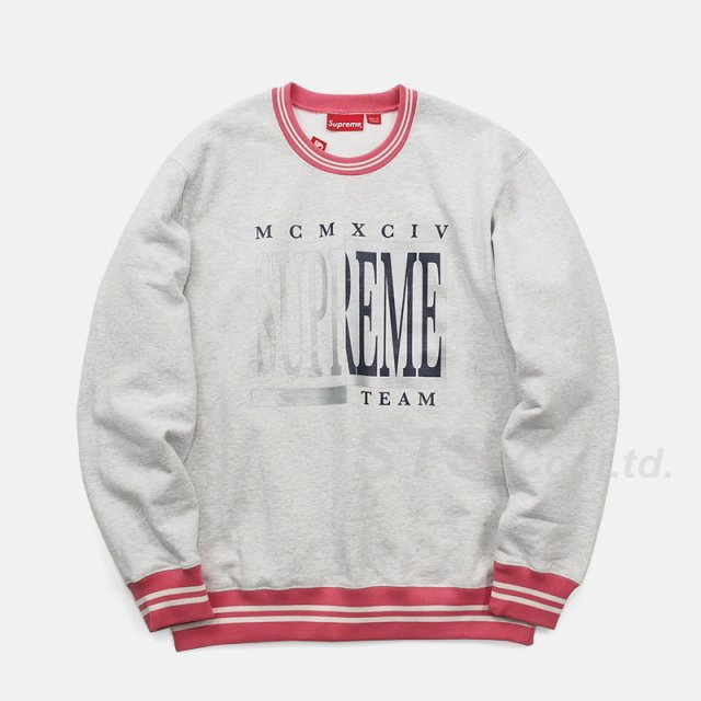 Supreme - Team Crewneck