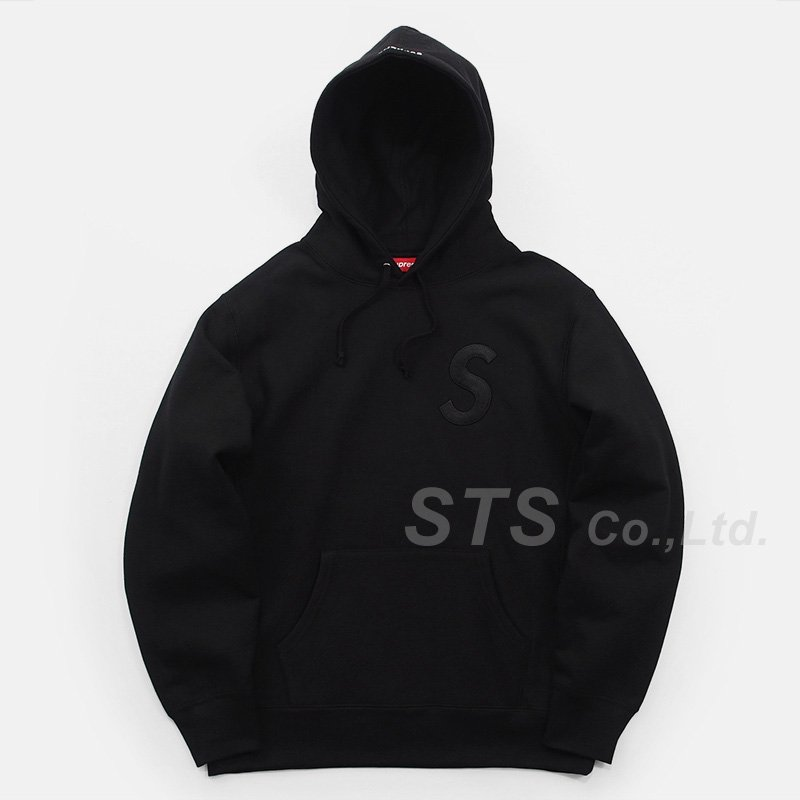 Supreme - Tonal S Logo Hooded Sweatshirt