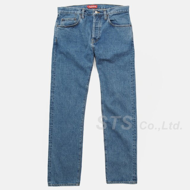 Supreme - Stone Washed Slim Jeans