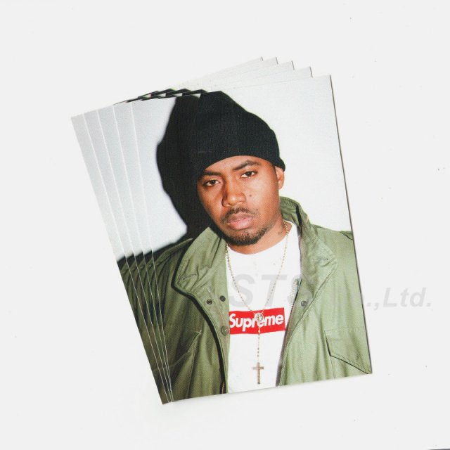 【Dead Stock】Supreme - Nas Sticker