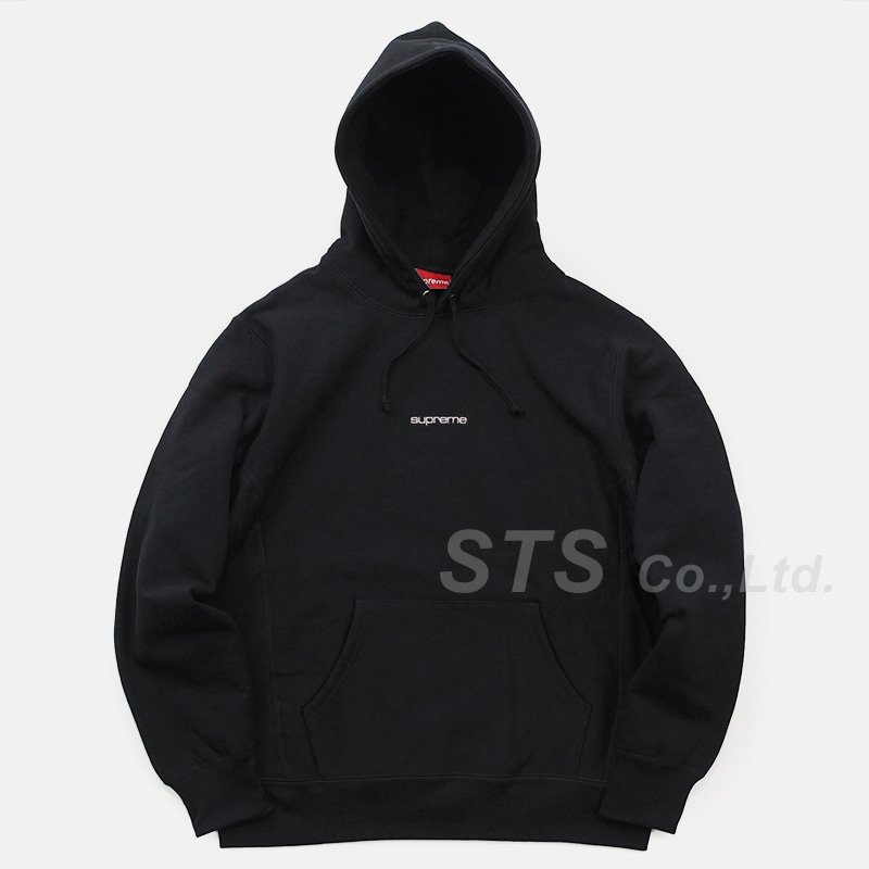 Supreme - Compact Logo Hooded Sweatshirt