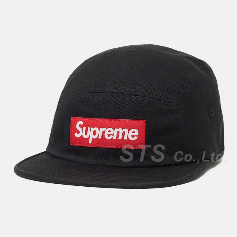Supreme - Washed Chino Twill Camp Cap