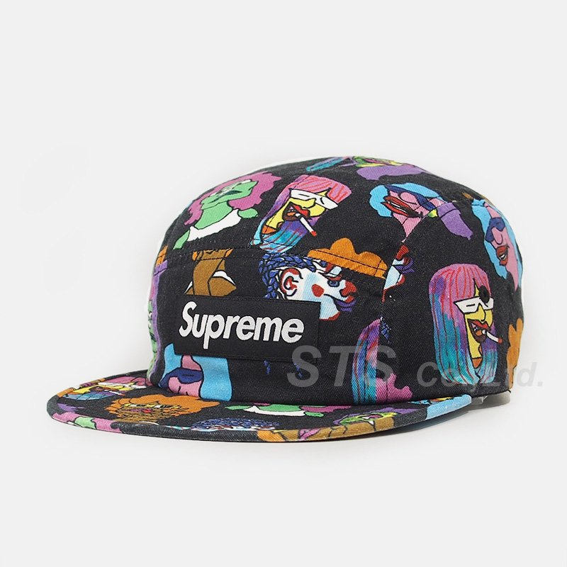 Supreme - Gonz Heads Camp Cap