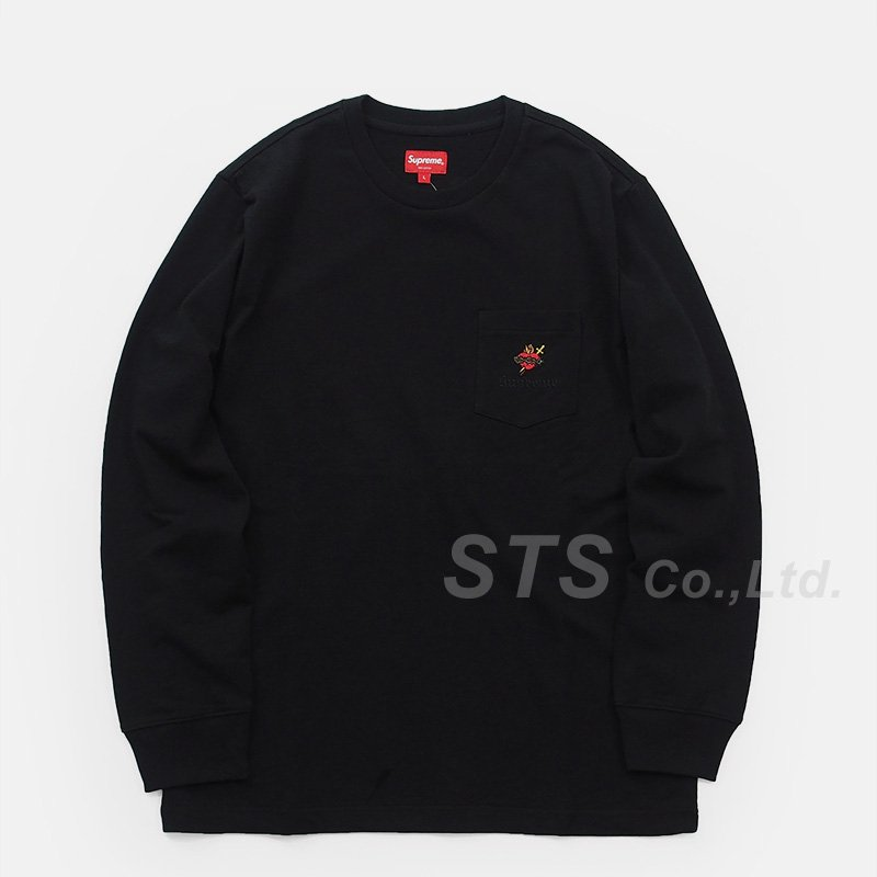 Supreme - Sacred Heart L/S Pocket Tee