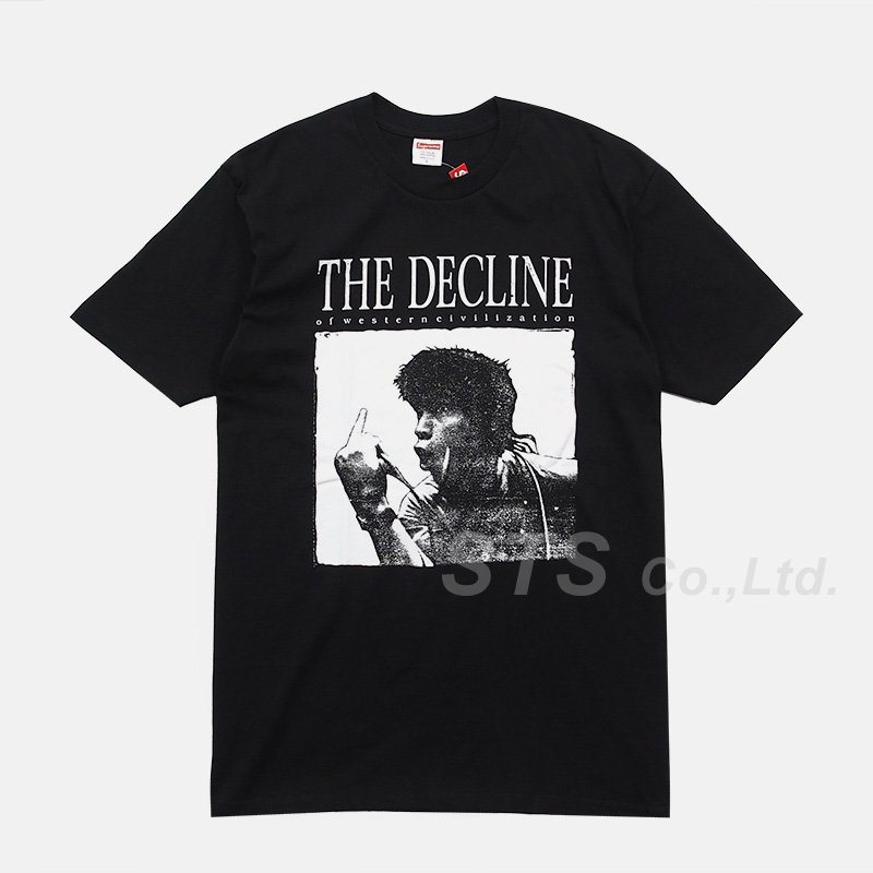 Supreme - Decline of Western Civilization Tee