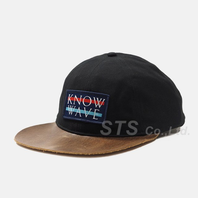 Know Wave - Leather Brim Wavelength Cap