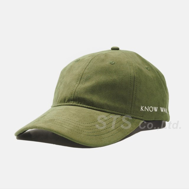 Know Wave - Long Bill Suede Cap