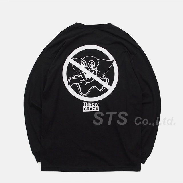 Throw Craze - No Bozos L/S Tee