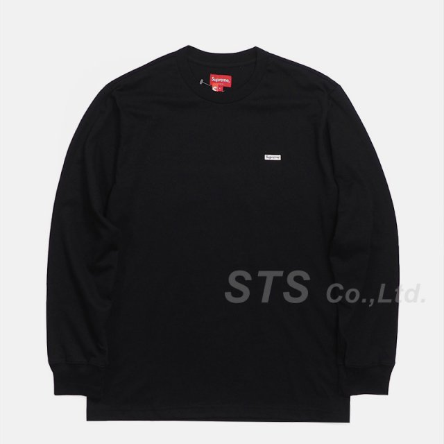 Supreme - Metallic Box Logo L/S Tee