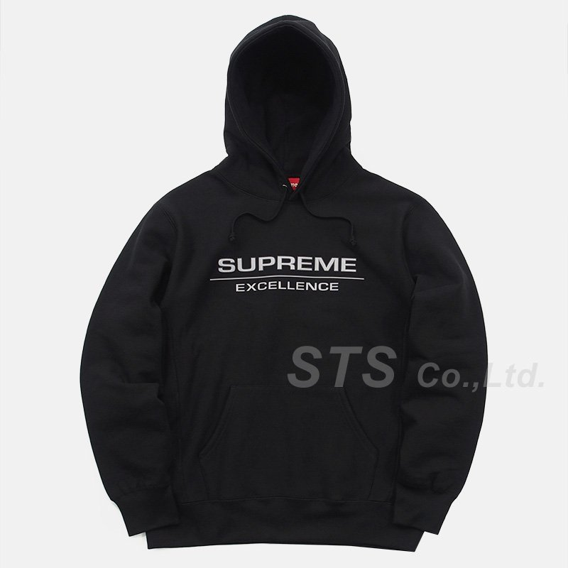 Supreme - Reflective Excellence Hooded Sweatshirt