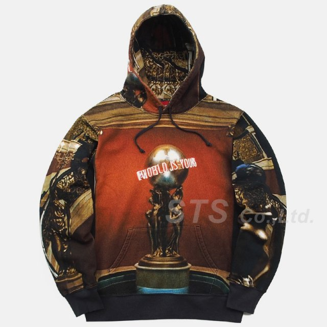 Supreme - Scarface The World is Yours Hooded Sweatshirt