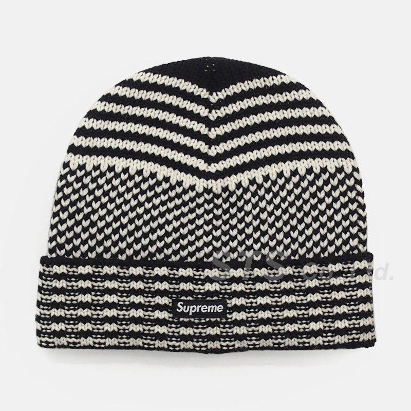 Supreme - Wool Jacquard Beanie