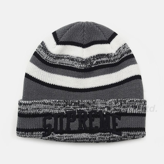 Supreme - Heather Stripe Beanie