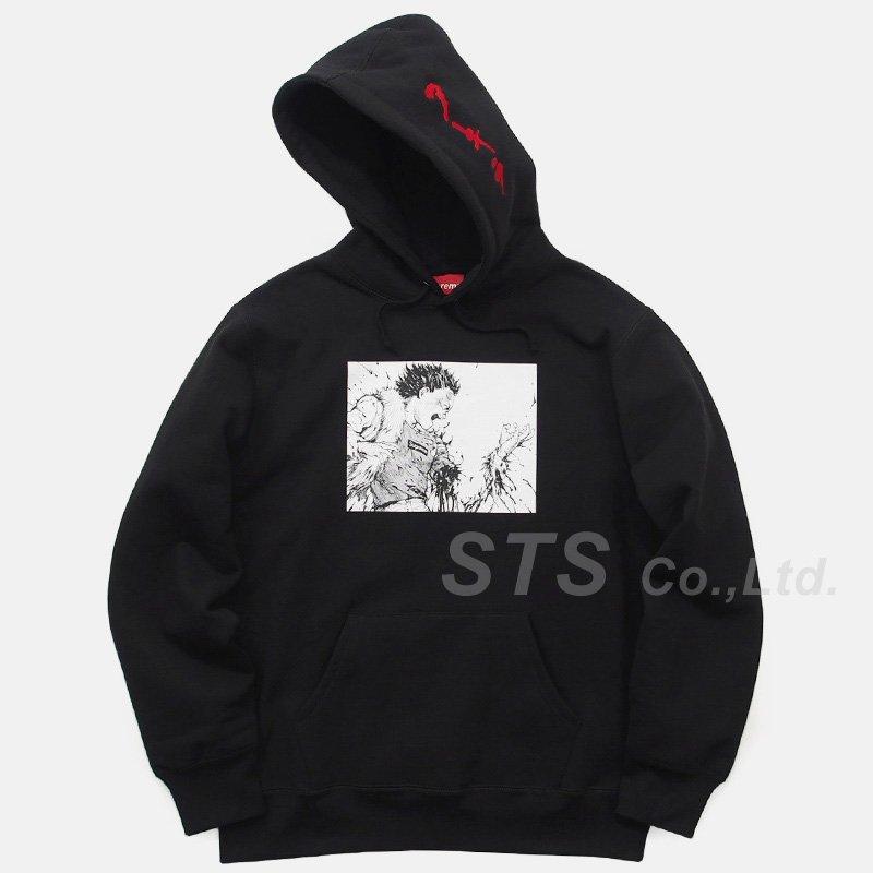 AKIRA/Supreme Arm Hooded Sweatshirt