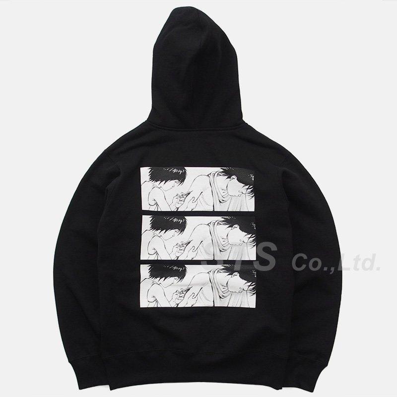 AKIRA/Supreme Syringe Zip Up Hooded Sweatshirt