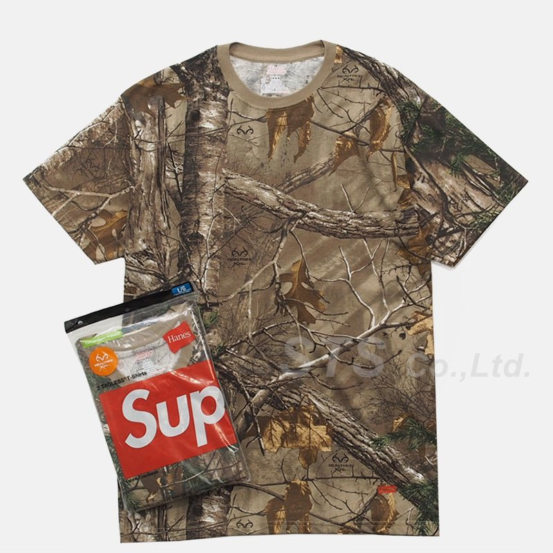 Supreme/Hanes Realtree Tagless Tees (2Pack)
