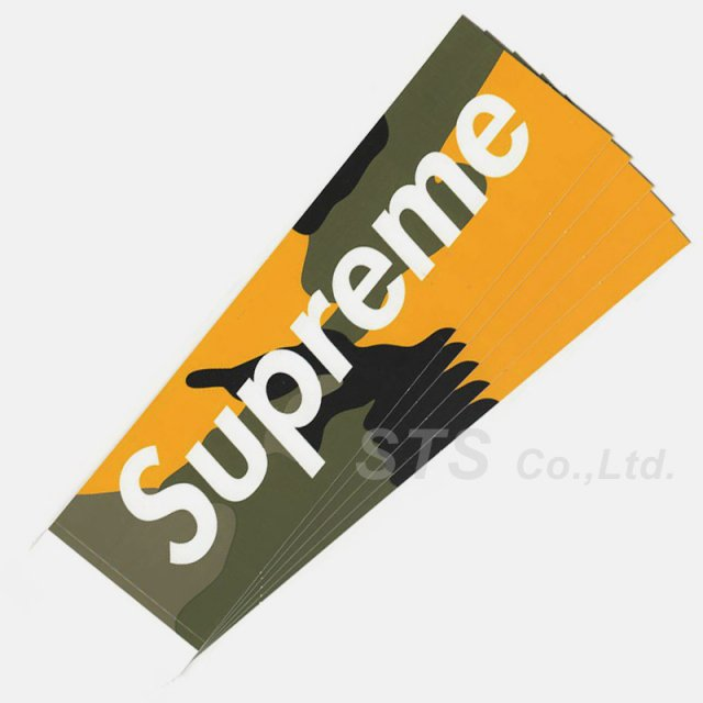 Supreme - Brooklyn Camo Box Logo Sticker
