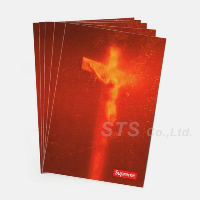 Supreme - Piss Christ Sticker