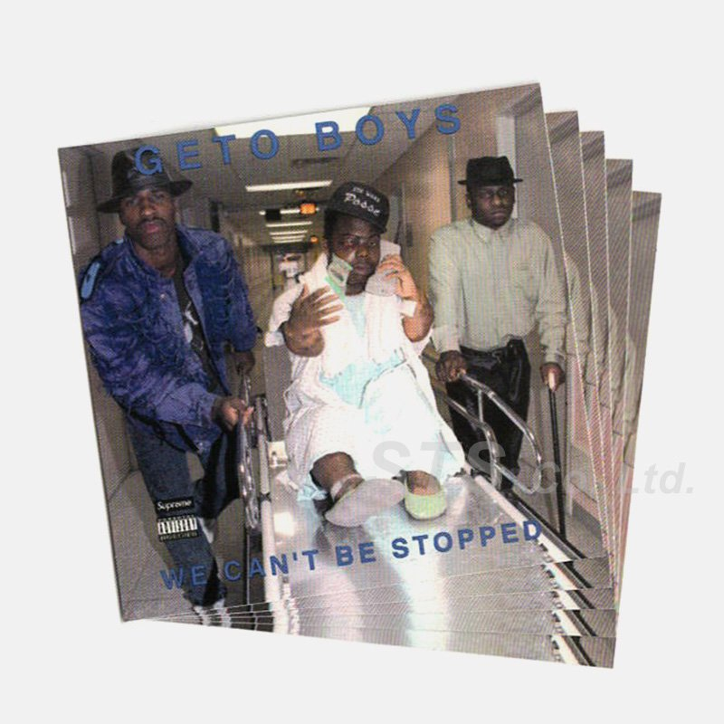 Supreme/Rap-A-Lot Records Geto Boys Sticker