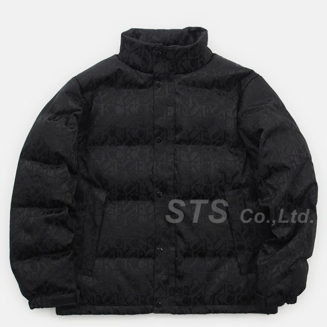 Supreme - Fuck Jacquard Puffy Jacket
