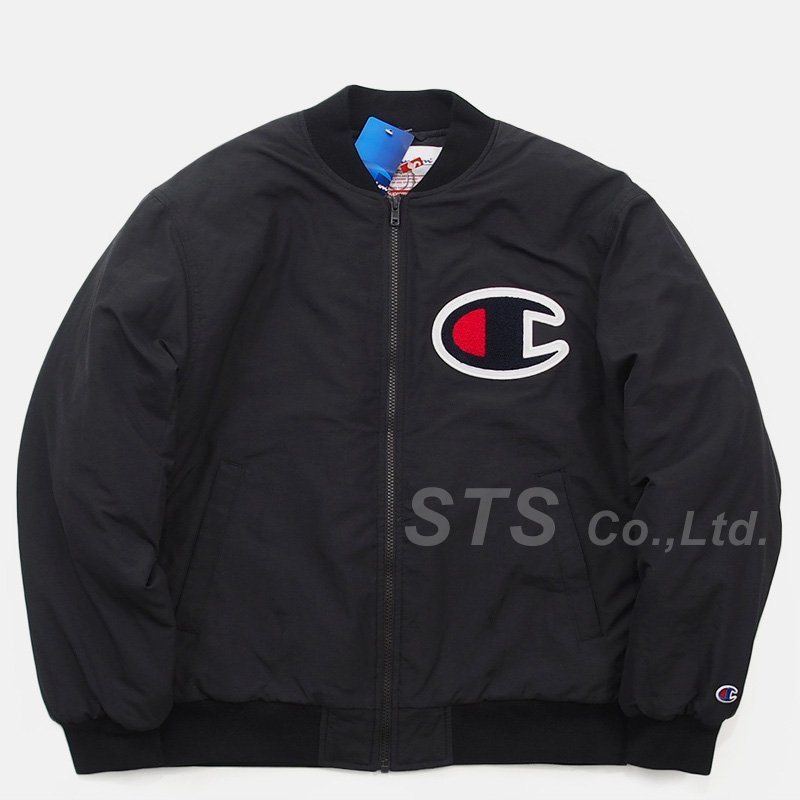 Supreme/Champion Color Blocked Jacket