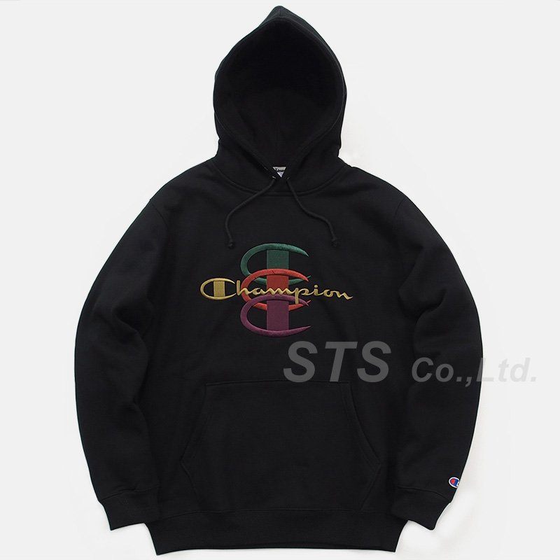 「BLACK FRIDAY」Supreme/Champion Stacked C Hooded Sweatshirt