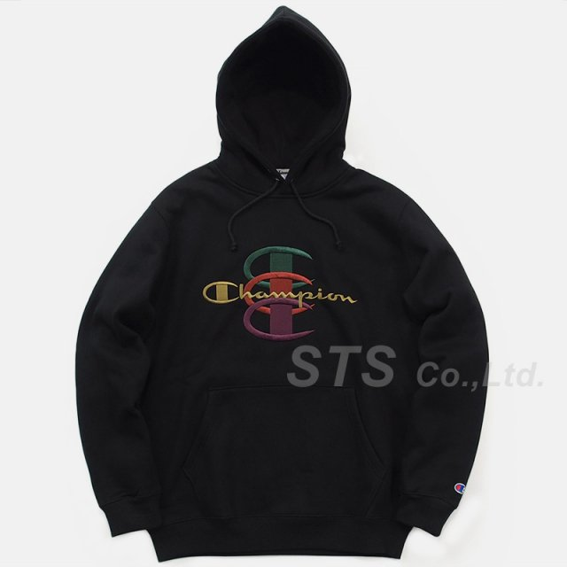 Supreme/Champion Stacked C Hooded Sweatshirt