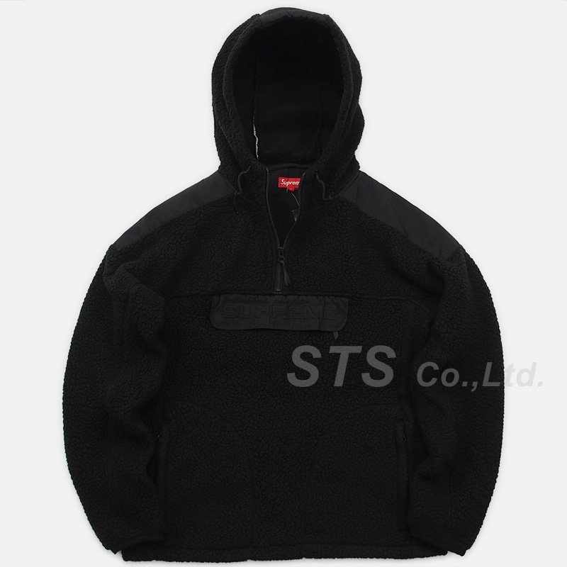 Supreme - Polartec Hooded Half Zip Pullover