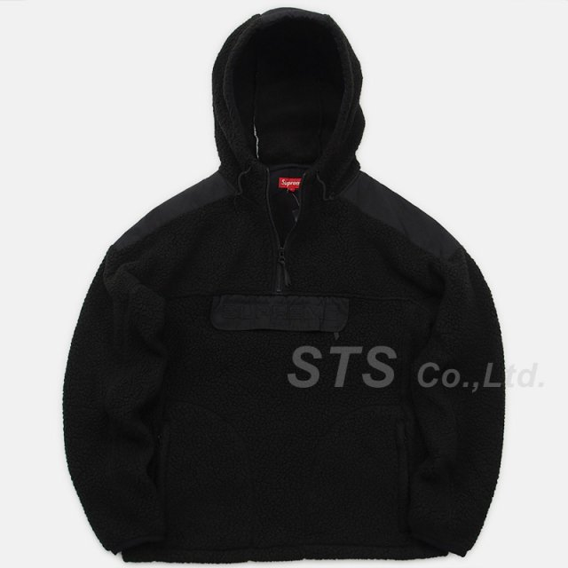 Supreme - Polartec Hooded Half Zip Pullover