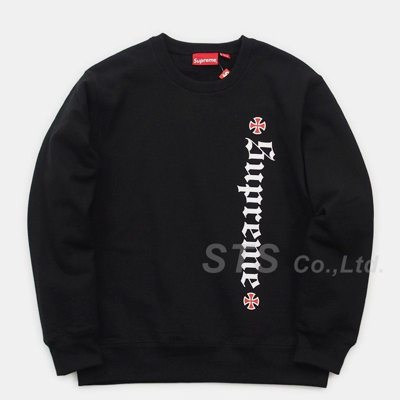 Supreme/Independent Fuck The Rest Crewneck