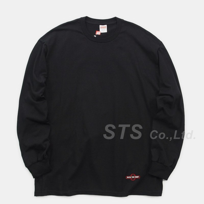 Supreme/Independent Fuck The Rest L/S Tee