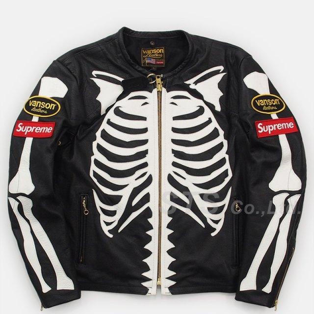 Supreme/Vanson Leather Bones Jacket