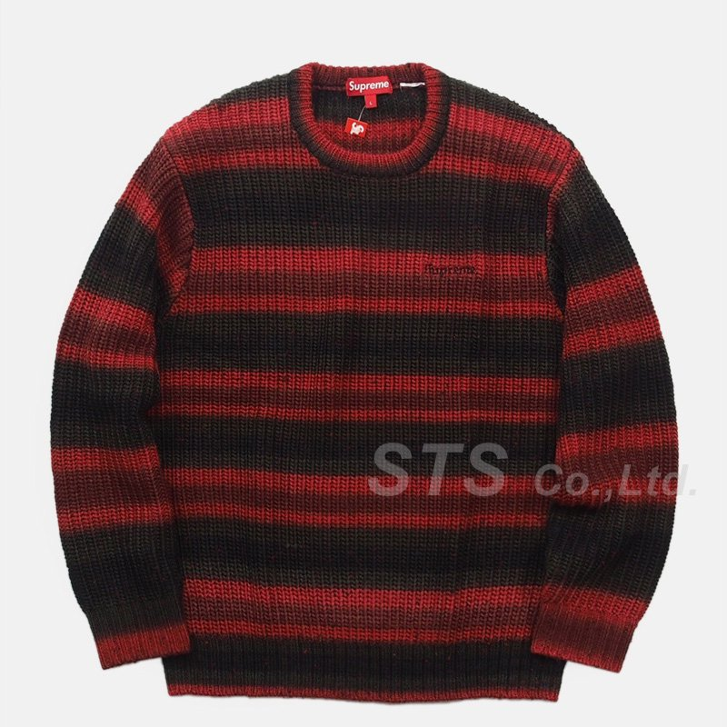 Supreme - Ombre Stripe Sweater