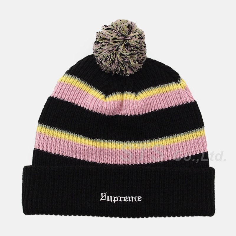 Supreme - Big Stripe Beanie
