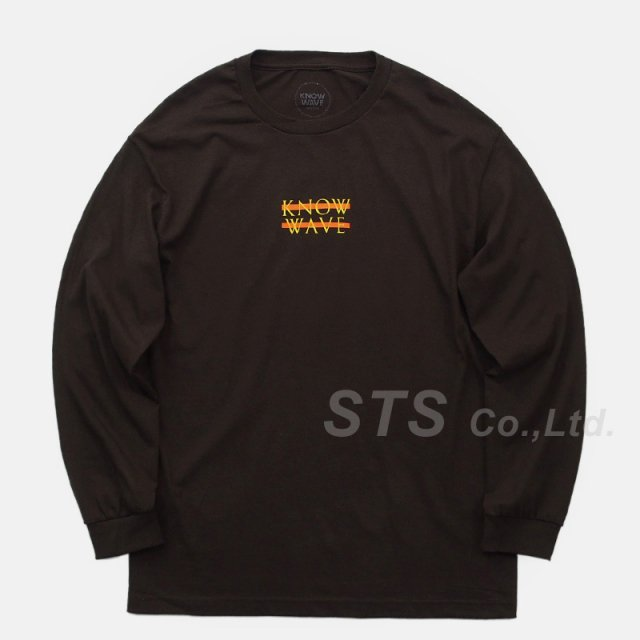 Know Wave - Wavelength Long Sleeve Tee