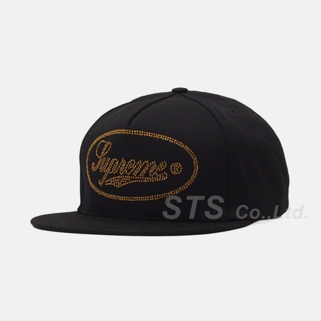 【SALE】Supreme - Studded Script Logo 5-Panel