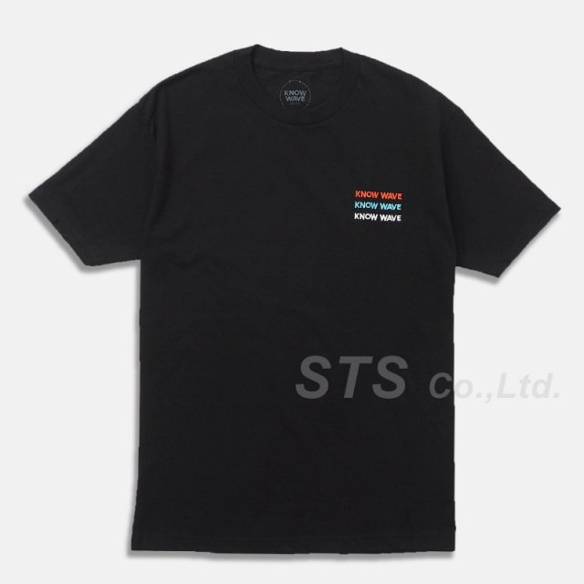 Know Wave - Up By Three Embroidered T